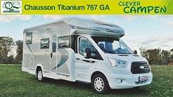 Chausson Titanium 767 GA: Die neue Baureihe auf Ford Transit Basis - Die Test-Camper   Clever Campen