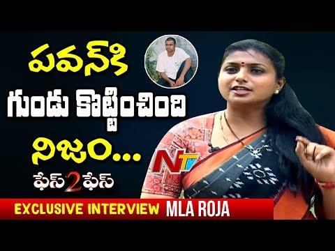 YCP MLA Roja Exclusive Interview || Counters to Pawan Kalyan, Chandrababu | NTV Exclusive