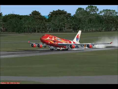Flight Simulator:X My Collection Of Malaysia Airlines