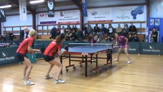 New Zealand Senior National Table Tennis 2012 -Open Women's Doubles Final Thumbnail