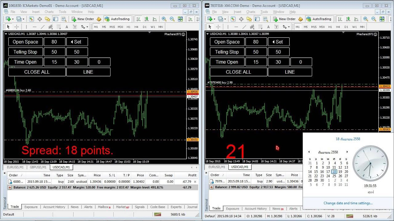 XM Spreads Review () - Fixed, Variable, Assets, Accounts