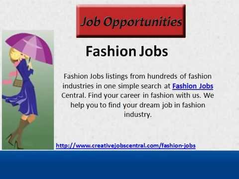 Creative Jobs Central Fashion Jobs