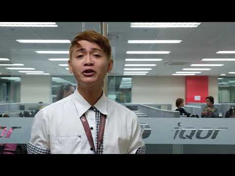 Rommel Shares His Training Experience With IQor Santa Rosa