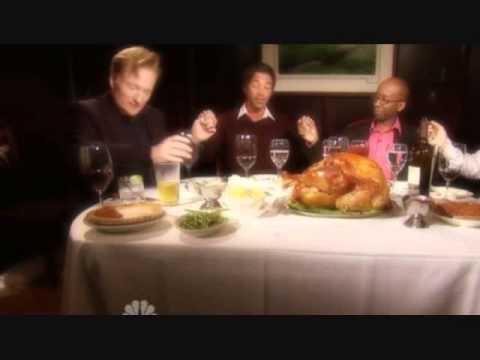 "Conan Travels - ""Jordan Schlansky's Thanksgiving Dinner"" - 11/26/09"