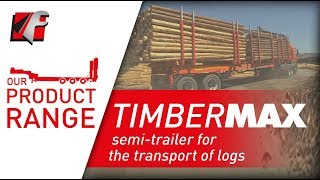FAYMONVILLE TimberMAX - Semi-trailer for the transport of logs