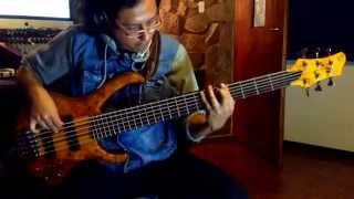 Latin Opening & Ajena - Eddy Herrera Bass Cover - Patricio Jaramillo - En Vivo