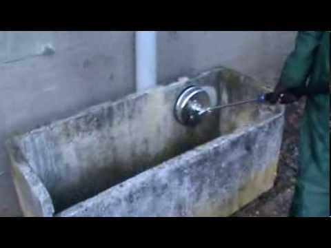 Vasca Da Lavare In Cemento : Pulizia arredo urbano vasca lavatoio in cemento che fare youtube