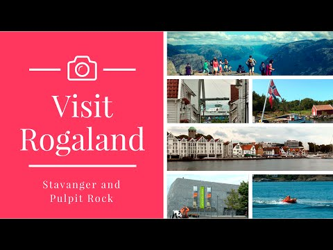 Visit Rogaland in Norway - Stavanger and Pulpit Rock. Norway video #2
