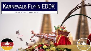 Livestream | Flight Simulator X | Karnevals Fly-In EDDK [EDDN-EDDK] [German]
