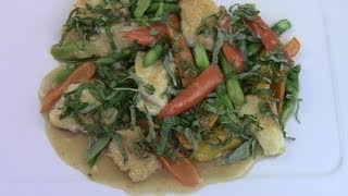 Fish Stir Fried With Herbs