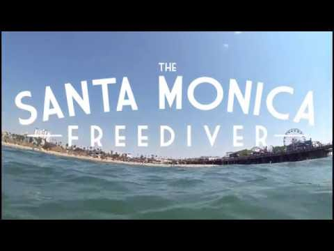 Freediving the Santa Monica Pier Breakwater
