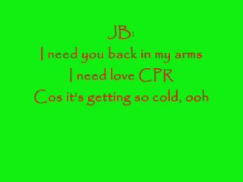 JLS my heart wont beat again with lyrics
