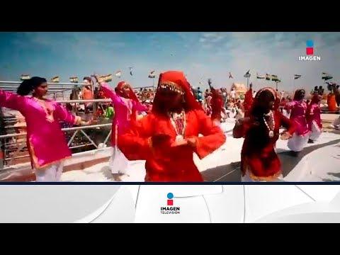 Celebración religiosa cada 12 años en la India | Noticias con Yuriria Sierra