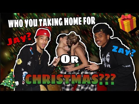 WHO YOU TAKING HOME FOR CHRISTMAS?!?😍🎄| Public Interview | Hilarious😂