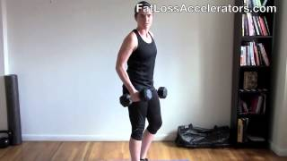 World's BEST Fat Burning Workout (using just a pair dumbbells)