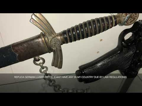 LATE NIGHT MILITARIA COLLECTION PART 1 (GERMAN WW2 RELICS)