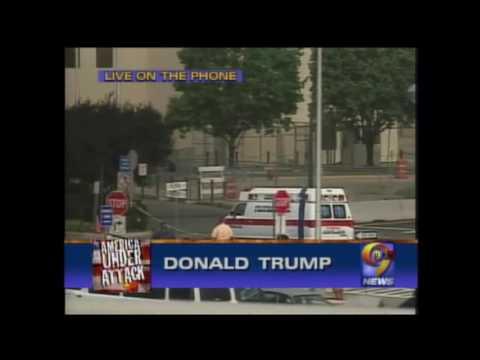 Donald Trump Calls Into WWOR/UPN 9 News on 9/11