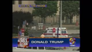 Donald Trump Calls Into WWOR/UPN 9 News on 9/11