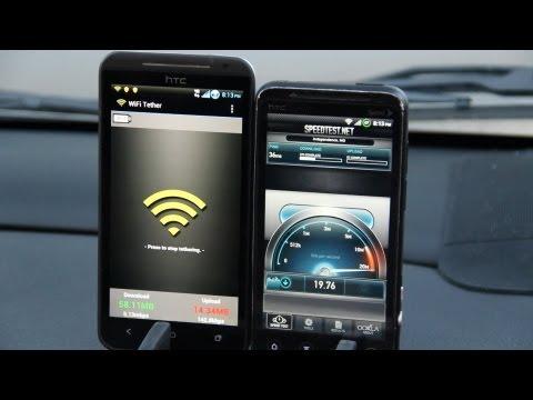 Sprint WiMax [EVO3D] vs 4G LTE [EVO4GLTE] 38MB/s DOWNLOAD!!