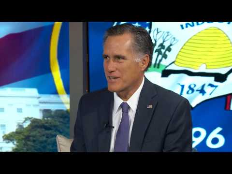 Mitt Romney on 3 Questions with Bob Evans
