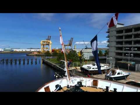 Royal Yacht Britannia Video Tour HD 2015