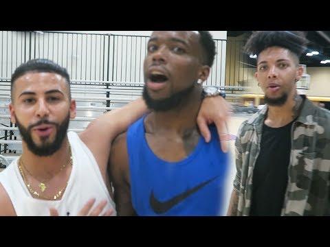 BEATING YOUR FAVORITE YOUTUBERS IN BASKETBALL!(EASIEST) Feat. Adam Saleh KickGenius Black Charcoal