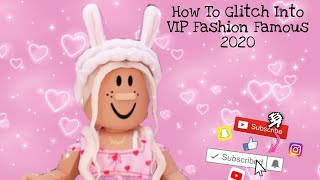 How To Glitch Into The V I P Room Fashion Famous Mb3 تحميل قناة
