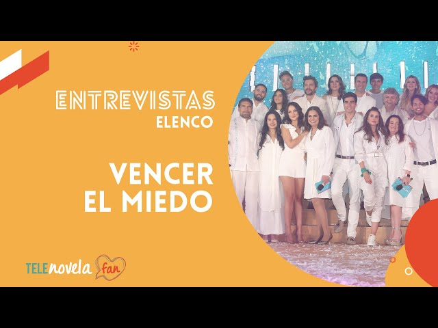 'Vencer el miedo' - Entrevista al ELENCO COMPLETO 2020