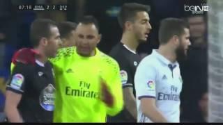 Sergio Ramos, Morata and Vasquez vs Sidnei  Real Madrid vs Deportivo