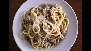 Спагетти а-ля Карбонара. Подробный рецепт от Франко