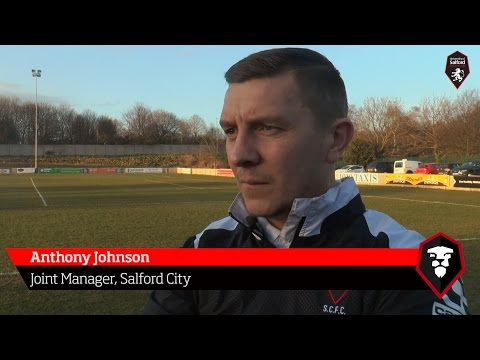 Salford City 0-2 Lancaster City - Anthony Johnson post-match interview