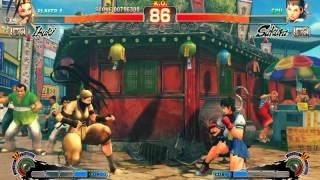 Ultra Street Fighter IV Rival: Ibuki vs Sakura