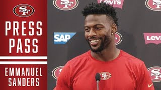 Emmanuel Sanders Shares First Impressions of 49ers