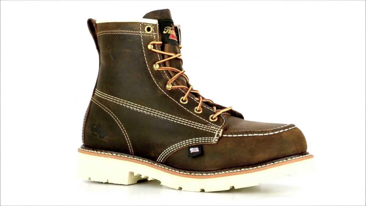 8e9fc4ad6f2 Men's Thorogood 804 4375 Steel Toe 6 Inch Work Boot @ Steel-Toe-Shoes.com  by SteelToeShoesDotCom