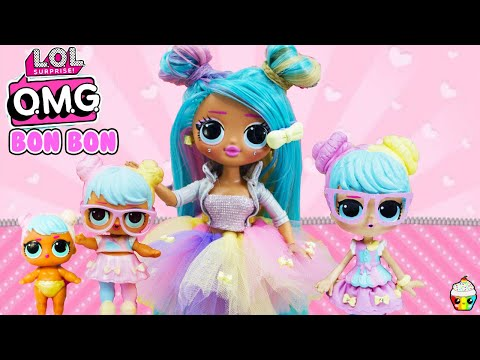 LOL OMG Makeover DIY Bon Bon Big Sister OMG Fashion Doll