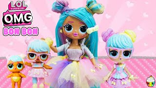 LOL OMG Makeover DIY Bon Bon Big Sister OMG Fashion Doll Video