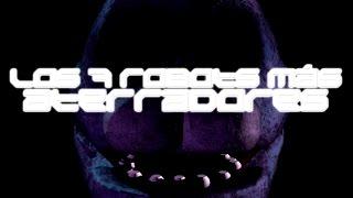 TOP: Los 7 Robots & Androides más aterradores | DrossRotzank