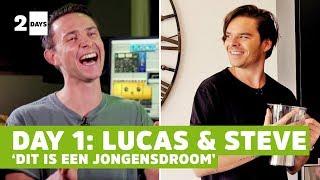 'Ik had deze verrassing niet mogen vertellen…'   2 DAYS   Lucas & Steve   #1 Day One   Tomorrowland