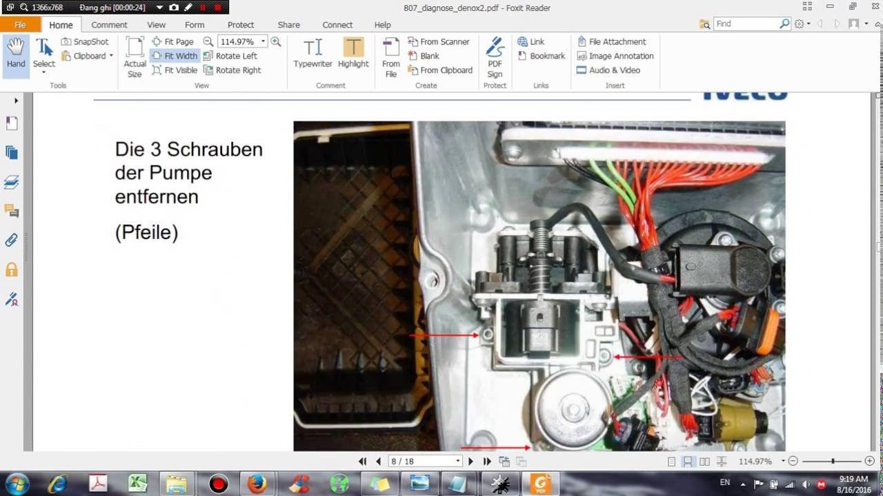 Euro 4 5 Scr Denoxtronic 2 Service Manual Dhtautocom Youtube Scania 114 Wiring Diagram Premium