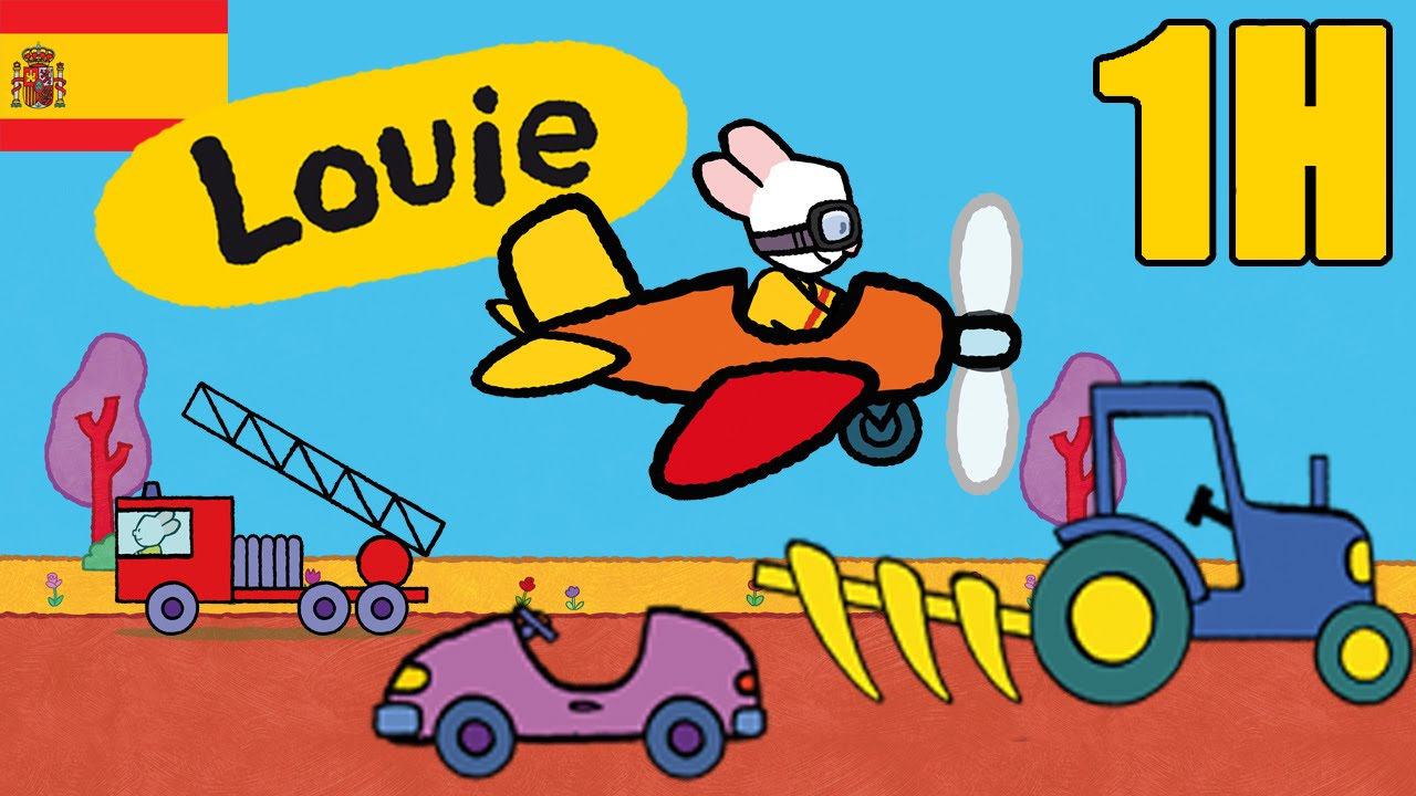 1 hora de Louie: Vehiculos - Compilacion  Dibujos ...