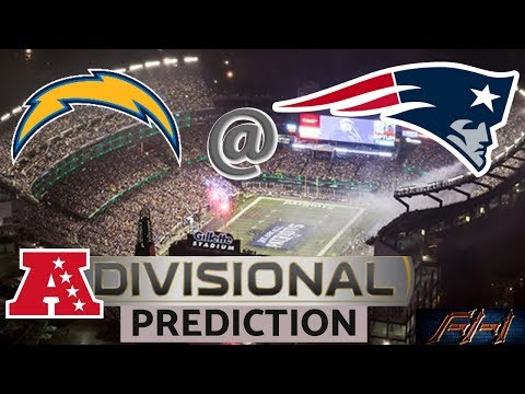 2018 - 2019 NFL Playoff Predictions - Los Angeles Chargers vs New England Patriots