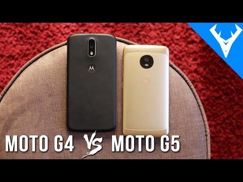 Moto G5 vs Moto G4 - O que mudou? Comparativo | Qual compensa comprar?