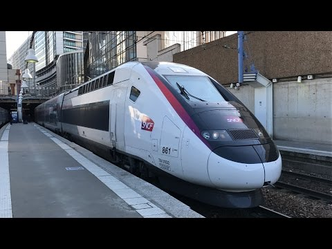 Railfanning Paris Gare Montparnasse
