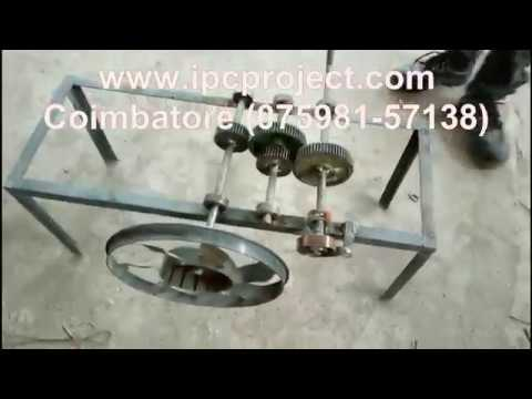 Spring Loaded Fan / Low Cost Mechanical Mini Projects / Mechanical Project Report Free Download