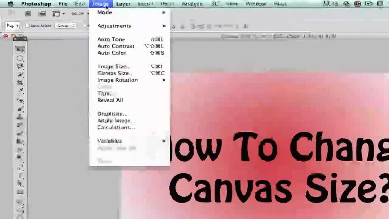 Photoshop Tips - How To Change Your Canvas Size In Photoshop - YouTube