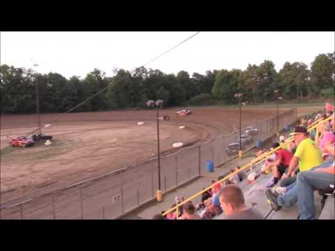 Butler Motor Speedway Street Stock Heat #1 8/13/16