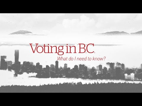 Voting in B.C. - What do I need to know?
