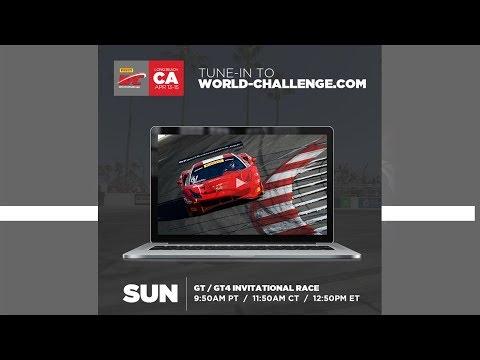 2018 PWC GP of Long Beach GT/GTA Rd.3 + GT4 Invitational LIVESTREAM