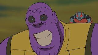 Thanos Final Battle - Avengers Endgame Parody Animation - MOVIE SHENANIGANS
