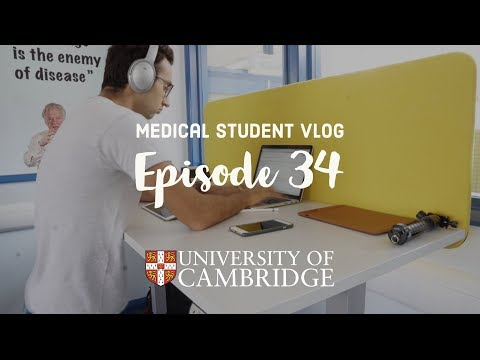 Study with me + More revision tips - Cambridge University medical student VLOG #34